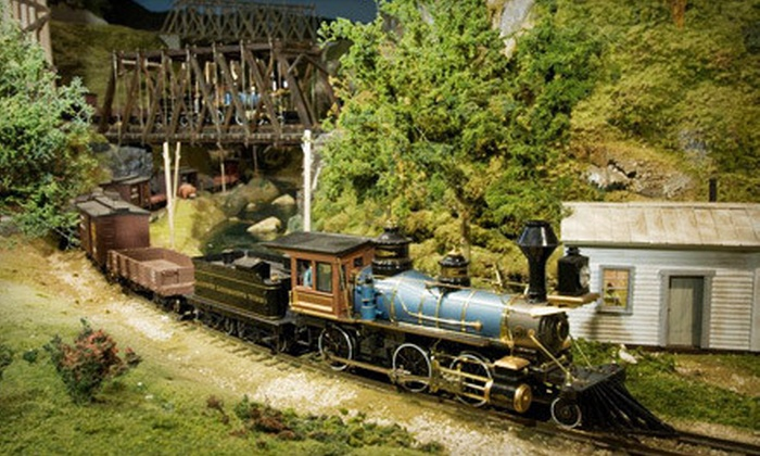 EnterTRAINment Junction - EnterTRAINment, Inc.: Fun-House and Train-Display Visit with Audio Tour for Two or Four at EnterTRAINment Junction (Half Off)
