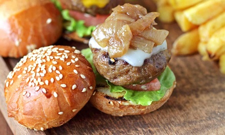 $10 for $20 Worth of Burgers and Fries at Patty Wagon