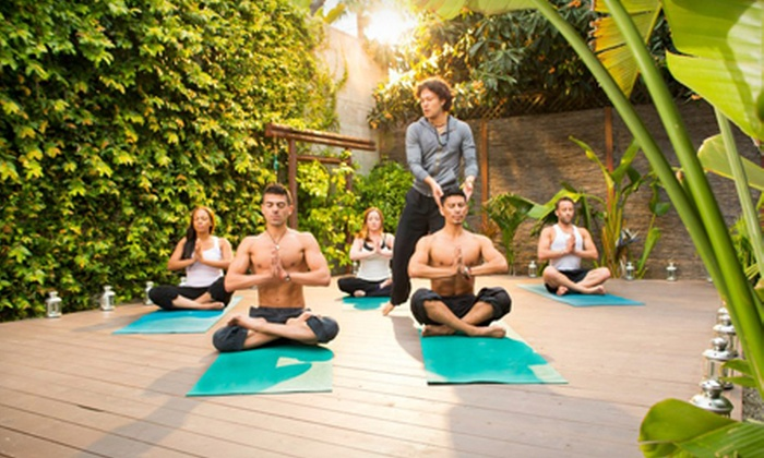 Shahr Salon & Wellness - West Hollywood: 10 or 20 Yoga Classes or a 200-Hour Yoga-Teacher-Training Package at Shahr Salon & Wellness (Up to 84% Off)