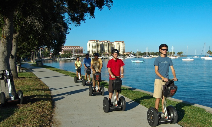 Magic Carpet Glide - Magic Carpet Glide: $30 for a Two-Hour Segway City Tour from Tampa Segway Tours ($65 Value)
