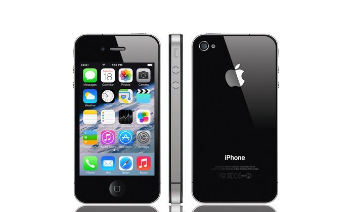iphone 4s ou iphone 5 16 go groupon. Black Bedroom Furniture Sets. Home Design Ideas