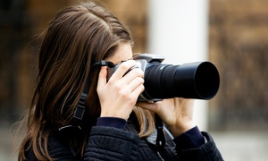 Owen Biddle Photography School: Private Photo Lesson for One or Two, or Three Private Lessons at Owen Biddle Photography School (Up to 58% Off)