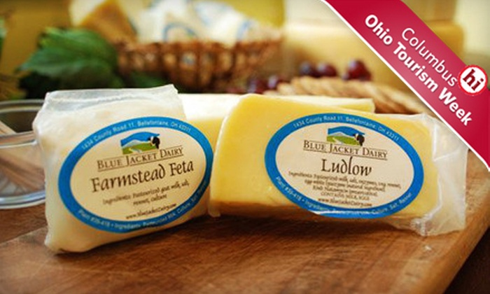 Blue Jacket Dairy - Multiple Locations: $15 for $30 Worth of Ohio-Made Cheese at Blue Jacket Dairy