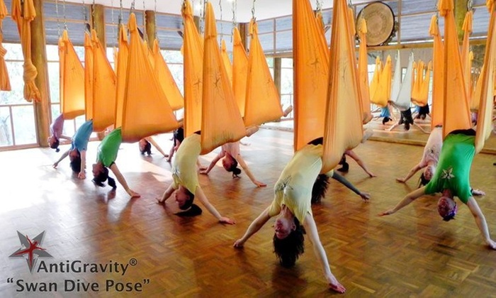 Stardust Fitness - Doral: 10 Aerial Fitness Classes at Stardust Fitness (65% Off)