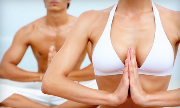 Stress Burner Yoga - Falls Church: 6 or 10 Yoga Classes at Stress Burner Yoga (Up to 81% Off)