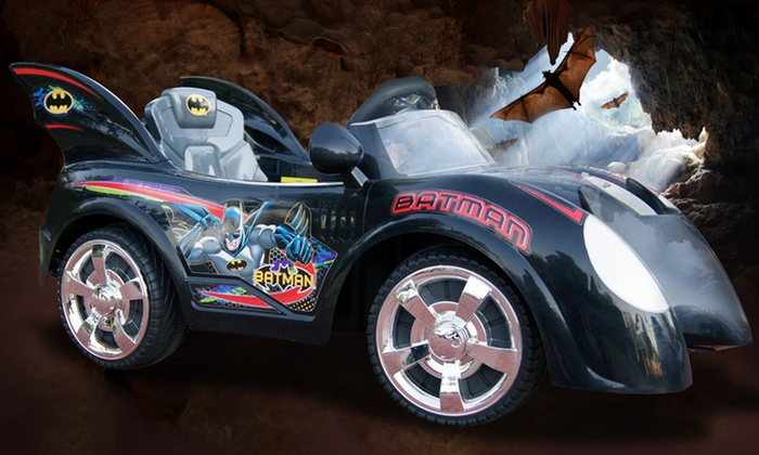 Batmobile Ride-On Car: Batmobile Ride-On Car for Ages 2–5. Free Shipping and Returns.