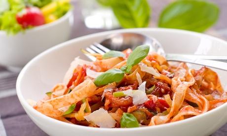 3-Gänge-Pasta-Menü nach Wahl für zwei oder vier Personen in der Pizzeria La Pizetta (bis zu 63% sparen*)