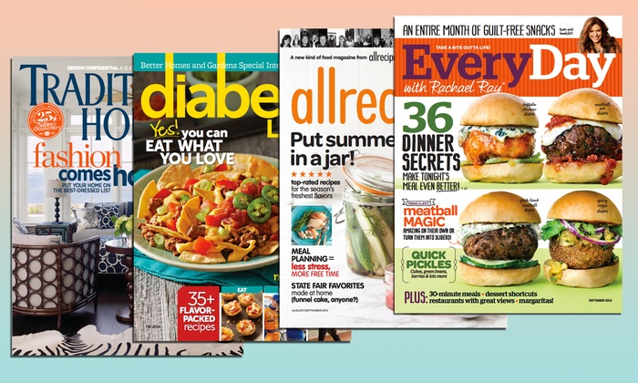 Meredith Corporation: $5 for Magazine Subscription from Meredith Corporation (Up to $19.97 Value)