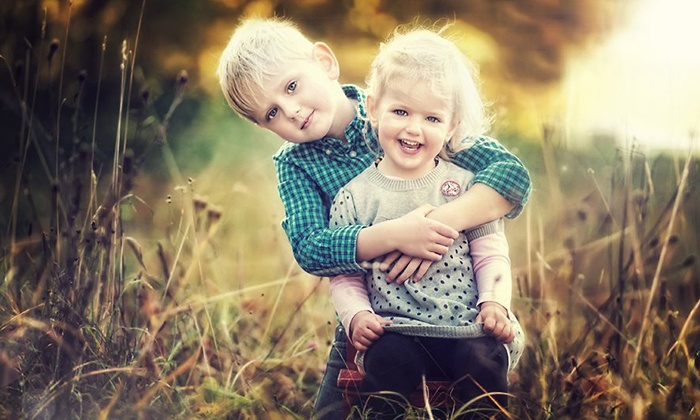 B.C. Photography - West Bend: 30- or 60-Minute Photo Shoot Package for Up to Six or Glamour Package from B.C. Photography (Up to 70% Off)