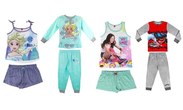 Pigiami Disney per bambine