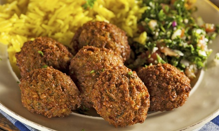 Middle Eastern Buffet Dinner for Two or Four or Takeout at Jerusalem Restaurant (Up to 45% Off)