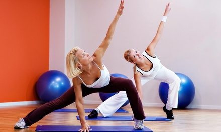 Five Fitness Classes or One Month of Unlimited Fitness Classes at 360 Cycle Yoga & Fitness (Up to 62% Off)