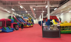 Bounce Around: Open-Play Passes for One, Two, or Four Children at Bounce Around At Westfield Fox Valley Mall (Up to 40% Off)