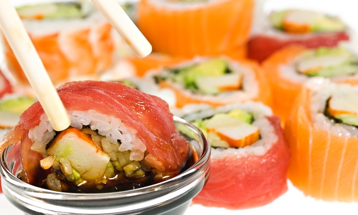 Tokyo House Grill and Sushi Buffet - Cielo Vista South: Sushi Dinner at Tokyo House Grill and Sushi Buffet (Up to 51% Off). Two Options Available.