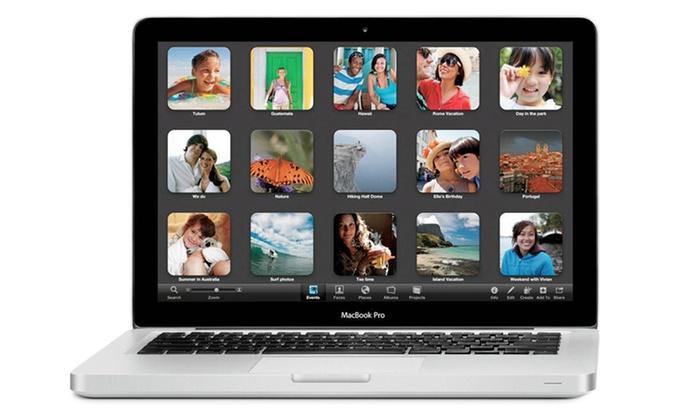 "Apple 13.3"" Macbook Pro: Apple 13.3"" Macbook Pro Notebook with 2.5GHz Intel Core Processor, 4GB RAM, and 500GB Hard Drive"