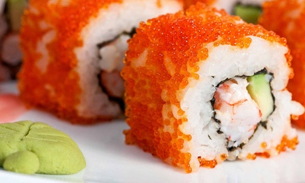 One or Two Groupons, Each Good for $25 Worth of Japanese Cuisine at Sakura Japanese Cuisine (52% Off)