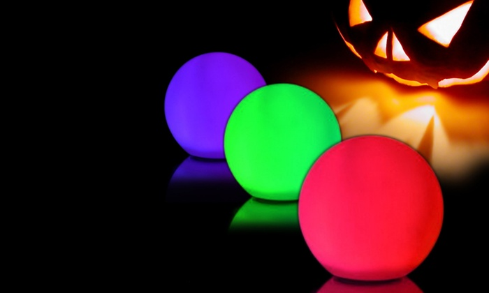 Rainbow Orb 3-Pack: 3-Pack of Color Changing Rainbow Orbs. Free Returns.
