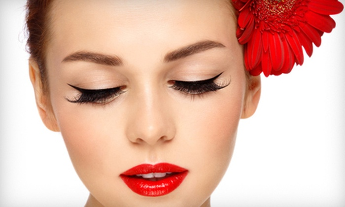 Polished Nail Bar & Spa - Wolcott: Waxing or Eyelash Extensions at Polished Nail Bar & Spa in Wolcott (Up to 55% Off). Four Options Available.