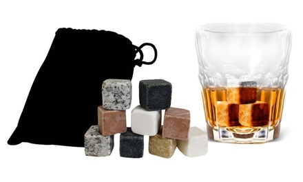 Set of 9 Whiskey Stones (1- or 2-Pack)