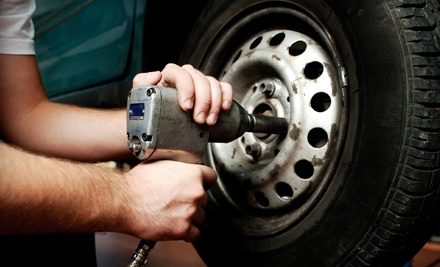 One or Three Oil Changes with One or Two Tire Rotations at Pit Crew (Up to 51% Off)