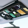 Sun-Visor Organizer for Digital Devices and Personal Items