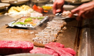 Hibachi Japanese Steak House: $17 for $30 Worth of Japanese Steak-House Dinner Cuisine at Hibachi Japanese Steak House