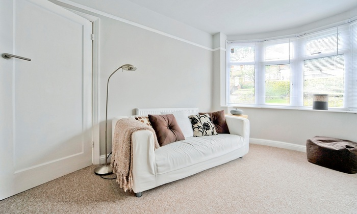 Extreme Clean - Easthill: Carpet Cleaning for Three Rooms and One Hallway or Upholstery Cleaning for One Couch from Extreme Clean (Up to 67% Off)