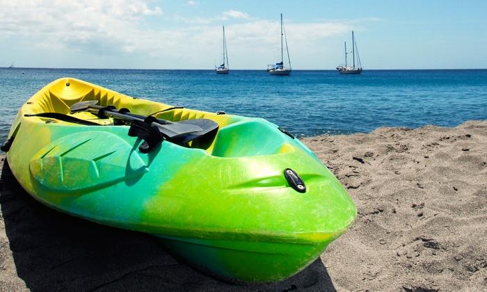 Virginia Key Watersports - Key Biscayne: Paddleboard or Kayak Rental or Guided Kayak Tour for Two or Four from Virginia Key Watersports (Up to 62% Off)