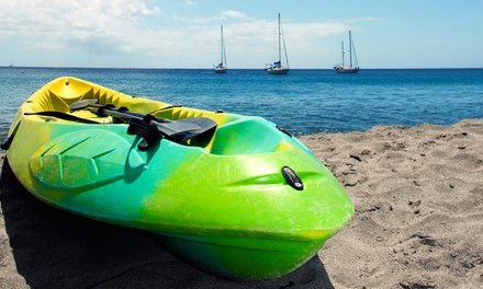 Paddleboard or Kayak Rental or Guided Kayak Tour for Two or Four from Virginia Key Watersports (Up to 63% Off)