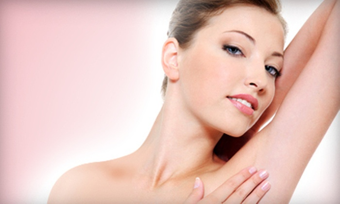 A & E and NYS Surgery Center - De Witt: Three Laser Hair-Removal Treatments for a Small, Medium, or Large Area at A & E and NYS Surgery Center (Up to 89% Off)