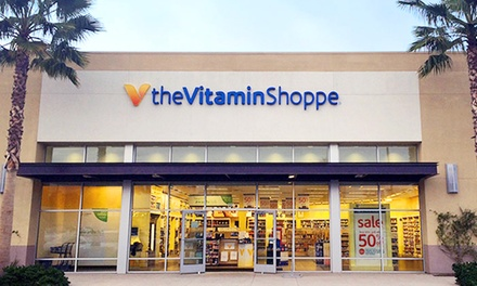 $15 for $25 Worth of Vitamins and Supplements at The Vitamin Shoppe