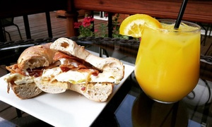 Village Bistro: Brunch with Bottomless Mimosas for Two or Four at Village Bistro (Up to 49%Off)