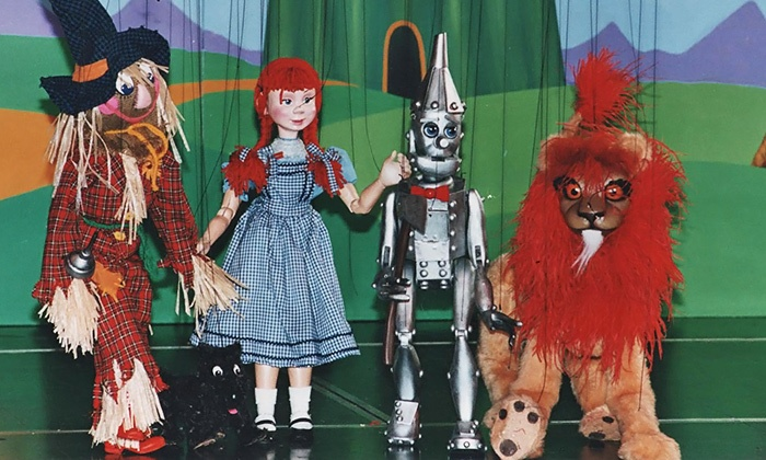 """Le Theatre de Marionette Presents: """"The Wizard of Oz"""" - Uptown Theater in Grand Prarie: Le Theatre de Marionette Presents: """"The Wizard of Oz"""" at Uptown Theater on Saturday, May 10 (Up to 50% Off)"""