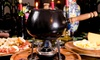 Menu raclette e bourguignonne