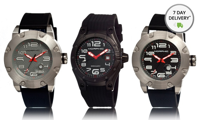 Men's Watches from Morphic: Men's Watches from Morphic. Multiple Styles and Colors Available. Free Returns.