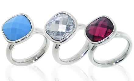 Faceted Mosaic Crystal Ring. Multiple Styles Available.