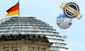 Air Service:  2 Tickets für den Berlin Weltballon Fesselballon in Mitte vom Air Service Berlin für 19,90 € (50% sparen)