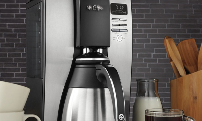 Mr. Coffee 10-Cup Coffee Maker Groupon Goods