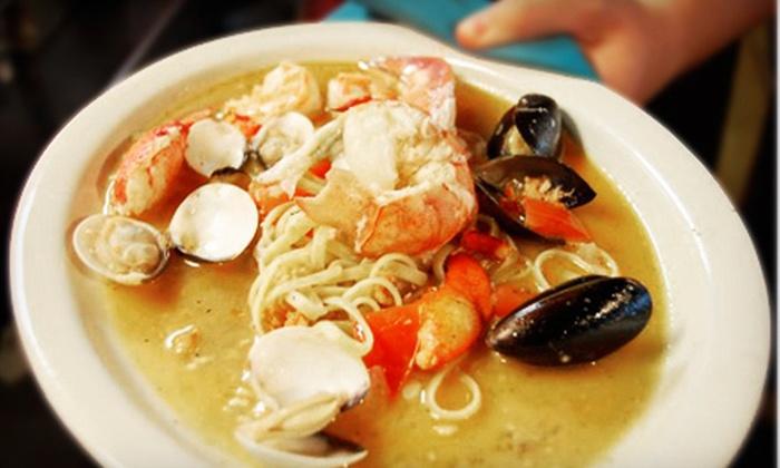 Luce Ristorante e Enoteca - Northwest Side: Italian Food at Luce Ristorante e Enoteca (Half Off). Two Options Available.