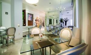ComerDcine : Menú para 2 o 4 con aperitivo, entrante, principal, postre y botella de vino o bebida desde 44,95 € en ComerDcine