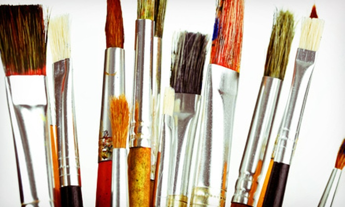 The Painted Room - Knoxville: $80 for a Four-Week Painting Class at The Painted Room ($160 Value). Two Dates Available.