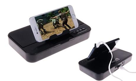 3 en 1 para smartphone: Power Bank, altavoz y soporte