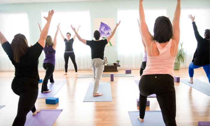 All Yoga - Baker Drive-Dartmouth: $45.99 for 10 Classes or One Month of Unlimited Classes at All Yoga ($149.50 Value)