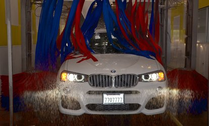 One Express Premium or Five Super Express <strong>Car Washes</strong> at River Park Express <strong>Car Wash</strong> (Up to 50% Off)