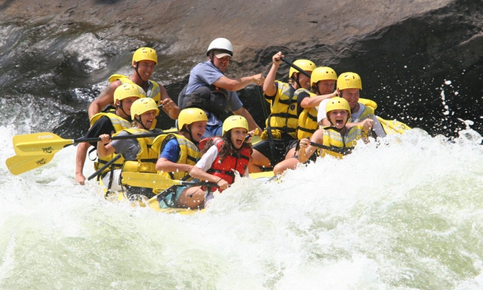 River Expeditions - Oak Hill: Two-Night New or Gauley River Rafting Trip for One from River Expeditions (Up to 41% Off)