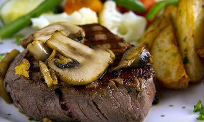 Cobblestone Grill - Zionsville: $15 for $30 Worth of Upscale American Dinner Food at Cobblestone Grill