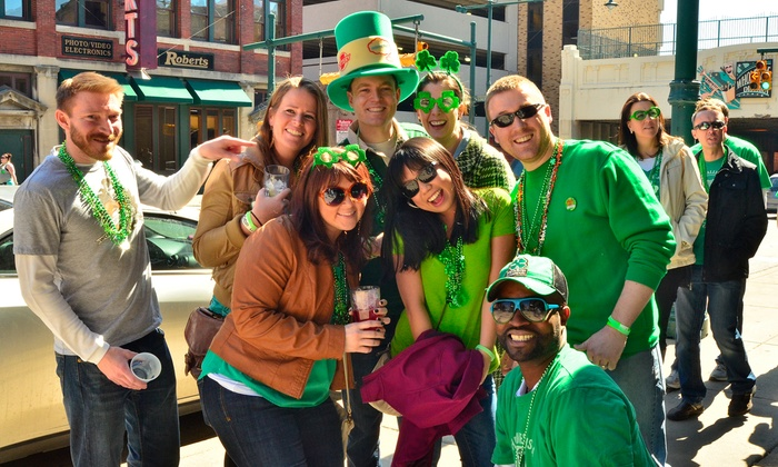 My Drink On - Downtown Indianapolis: Get Your Drink On's St. Patrick's Day Bar Crawl for One, Two, or Four on Saturday, March 14, at Noon (Up to 60% Off)