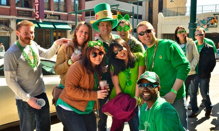 Get Your Drink On's St. Patrick's Day Bar Crawl for One, Two, or Four on Saturday, March 14, at Noon (Up to 60% Off)