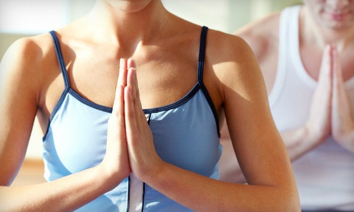 Bikram Yoga Westshore - Victoria: One Month of Unlimited Hot-Yoga Classes or 10 Drop-In Classes at Bikram Yoga Westshore (Up to 77% Off)