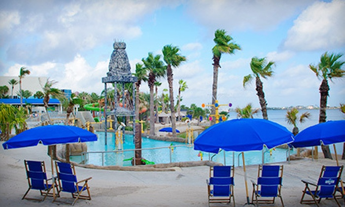 Amazing Moody Gardens   Offatts Bayou: Water Park Outing With Combo Meal For One,